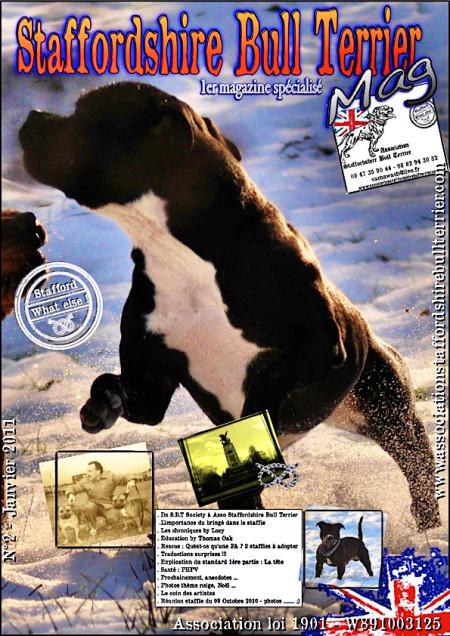 Mag 2 - Janvier 2011 - Spécialisé Staffordshire Bull Terrier